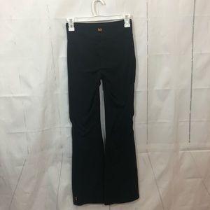 Lucy Powermax Black Bootcut Athletic Pants XSshort